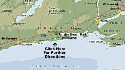 Directions to Jubalee Beach Park
