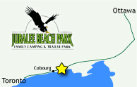 map of Jubalee Beach Park